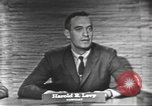 Image of presidential election debate Washington DC USA, 1960, second 9 stock footage video 65675073650