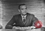 Image of presidential election debate Washington DC USA, 1960, second 11 stock footage video 65675073650