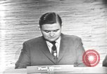 Image of presidential election debate Washington DC USA, 1960, second 3 stock footage video 65675073651