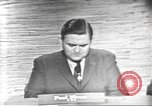 Image of presidential election debate Washington DC USA, 1960, second 5 stock footage video 65675073651