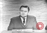 Image of presidential election debate Washington DC USA, 1960, second 6 stock footage video 65675073651