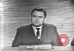 Image of presidential election debate Washington DC USA, 1960, second 7 stock footage video 65675073651