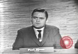 Image of presidential election debate Washington DC USA, 1960, second 12 stock footage video 65675073651