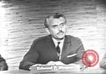 Image of presidential election debate Washington DC USA, 1960, second 6 stock footage video 65675073652