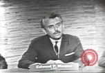 Image of presidential election debate Washington DC USA, 1960, second 10 stock footage video 65675073652