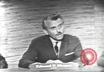 Image of presidential election debate Washington DC USA, 1960, second 12 stock footage video 65675073652