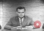 Image of presidential election debate Washington DC USA, 1960, second 8 stock footage video 65675073653