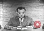 Image of presidential election debate Washington DC USA, 1960, second 9 stock footage video 65675073653