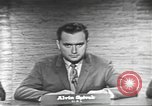 Image of presidential election debate Washington DC USA, 1960, second 11 stock footage video 65675073653