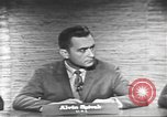 Image of presidential election debate Washington DC USA, 1960, second 12 stock footage video 65675073653