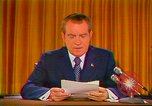 Image of Richard Nixon Washington DC USA, 1973, second 1 stock footage video 65675073679