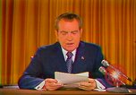 Image of Richard Nixon Washington DC USA, 1973, second 2 stock footage video 65675073679