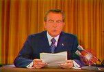 Image of Richard Nixon Washington DC USA, 1973, second 7 stock footage video 65675073679
