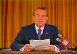 Image of Richard Nixon Washington DC USA, 1973, second 8 stock footage video 65675073679