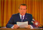 Image of Richard Nixon Washington DC USA, 1973, second 9 stock footage video 65675073679