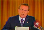 Image of Richard Nixon Washington DC USA, 1973, second 10 stock footage video 65675073680