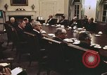 Image of Cabinet members Washington DC USA, 1972, second 12 stock footage video 65675073690