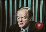 Image of Hubert Humphrey United States USA, 1972, second 3 stock footage video 65675073700