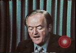Image of Hubert Humphrey United States USA, 1972, second 12 stock footage video 65675073700