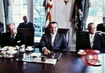 Image of Richard Nixon Washington DC USA, 1971, second 2 stock footage video 65675073706
