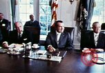 Image of Richard Nixon Washington DC USA, 1971, second 4 stock footage video 65675073706