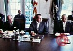 Image of Richard Nixon Washington DC USA, 1971, second 5 stock footage video 65675073706