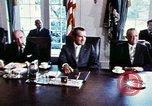 Image of Richard Nixon Washington DC USA, 1971, second 7 stock footage video 65675073706