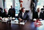 Image of Richard Nixon Washington DC USA, 1971, second 9 stock footage video 65675073706