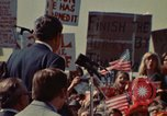 Image of Richard Nixon speaks to automobile workers during energy crisis Saginaw Michigan USA, 1974, second 9 stock footage video 65675073721
