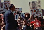 Image of Richard Nixon speaks to crowd Saginaw Michigan USA, 1974, second 1 stock footage video 65675073722