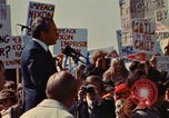 Image of Richard Nixon speaks to crowd Saginaw Michigan USA, 1974, second 4 stock footage video 65675073722