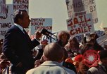 Image of Richard Nixon speaks to crowd Saginaw Michigan USA, 1974, second 11 stock footage video 65675073722
