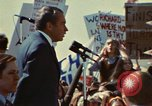 Image of Richard Nixon Saginaw Michigan USA, 1974, second 4 stock footage video 65675073723
