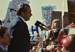 Image of Richard Nixon Saginaw Michigan USA, 1974, second 8 stock footage video 65675073723