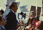 Image of Richard Nixon Saginaw Michigan USA, 1974, second 9 stock footage video 65675073723