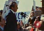 Image of Richard Nixon Saginaw Michigan USA, 1974, second 10 stock footage video 65675073723