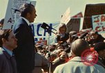 Image of Richard Nixon Saginaw Michigan USA, 1974, second 12 stock footage video 65675073723