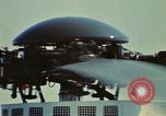Image of Marine One helicopter Saginaw Michigan USA, 1974, second 5 stock footage video 65675073724