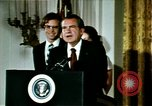 Image of Richard Nixon Washington DC USA, 1974, second 2 stock footage video 65675073727