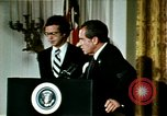 Image of Richard Nixon Washington DC USA, 1974, second 6 stock footage video 65675073727