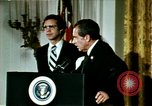 Image of Richard Nixon Washington DC USA, 1974, second 8 stock footage video 65675073727