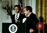 Image of Richard Nixon Washington DC USA, 1974, second 12 stock footage video 65675073727