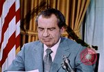 Image of Richard Nixon Washington DC USA, 1973, second 1 stock footage video 65675073753
