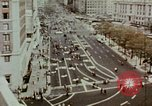 Image of demonstrators Washington DC USA, 1969, second 3 stock footage video 65675073765