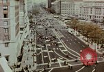 Image of demonstrators Washington DC USA, 1969, second 4 stock footage video 65675073765