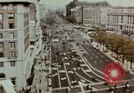 Image of demonstrators Washington DC USA, 1969, second 5 stock footage video 65675073765