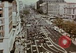 Image of demonstrators Washington DC USA, 1969, second 8 stock footage video 65675073765