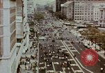 Image of demonstrators Washington DC USA, 1969, second 9 stock footage video 65675073765