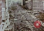 Image of demonstrators Washington DC USA, 1969, second 11 stock footage video 65675073765