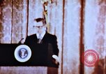 Image of Richard Nixon Washington DC USA, 1972, second 2 stock footage video 65675073771